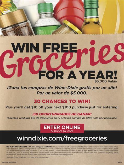 Great Grocery Giveaway - participa en el sorteo great grocery giveaway de winn dixie naturalmente mama
