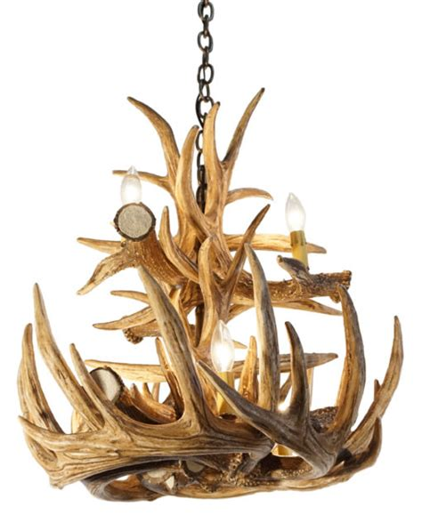 How To Make A Whitetail Deer Antler Chandelier Whitetail Deer 12 Large Antler Chandelier Cast Horn Designs