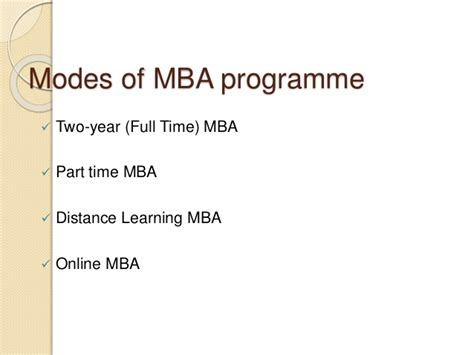 Mba Distance Learning Part Time by Unemployment Risk Associated With Mba