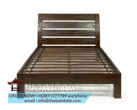 Dipan Kayu Simpel tempat tidur jati minimalis ttj 034 mebel jati minimalis mebel jati jepara mebel furniture