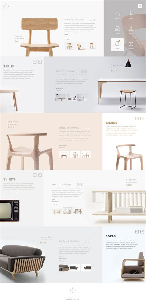 web design layout dimensions 25 best ideas about furniture brochure on pinterest