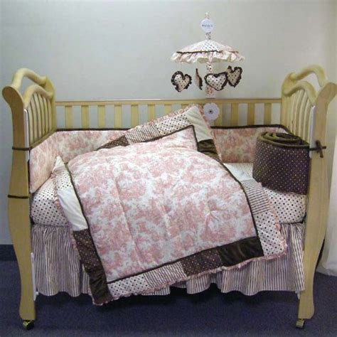 discount crib bedding 3 discount waverly rose toile 4 piece crib bedding set by