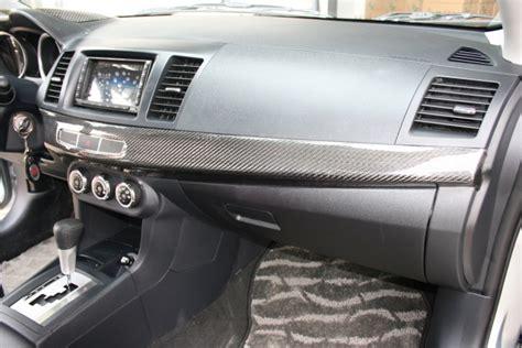 Evo X Interior Upgrades by Mitsubishi Evolution X Carbon Fiber Interior Trims Cz4a