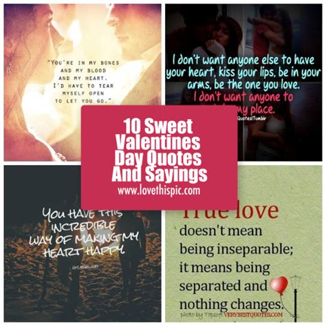 sweet quotes for valentines 10 sweet valentines day quotes and sayings