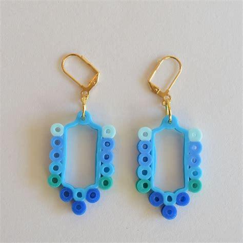 bead earrings diy perler bead earrings kristiina