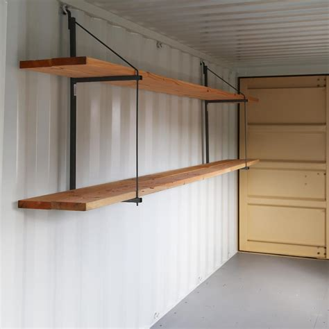 Container Store Shelf Brackets by Shelving