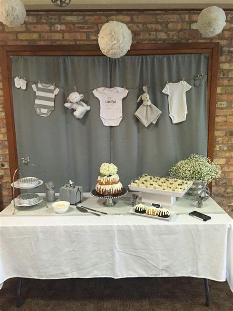 Clothesline Baby Shower Ideas by Clothesline Baby Shower Design Decoration