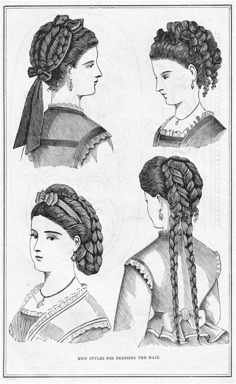 19th Century Hairstyles by 27 Best Images About 19th Century Hairstyles On