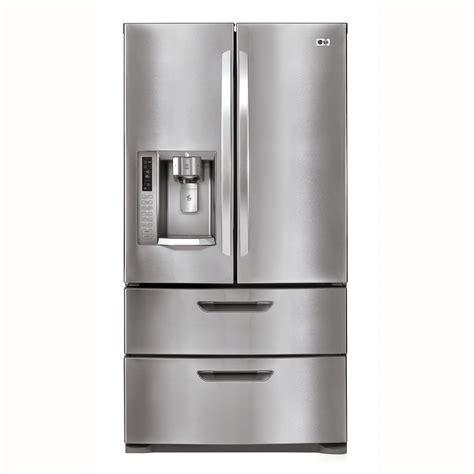 door refrigerator sears outlet lg lmx28987s 27 5 cu ft ultra capacity 4 door