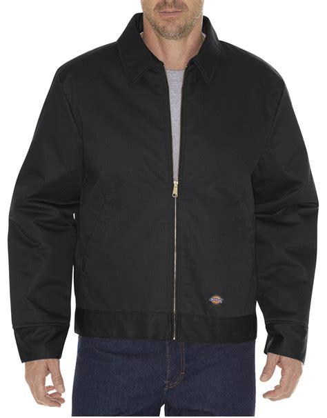 Jaket Parka Pocket Kanvas List Black lined eisenhower jacket for dickies