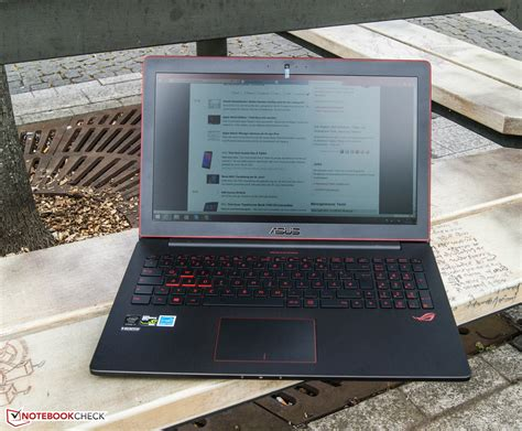 Laptop Asus G501jw asus g501jw fhd notebook review notebookcheck net reviews