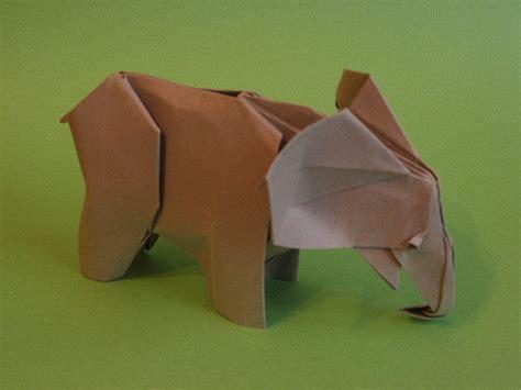 White Elephant Origami - 89 best images about origami animals elephant on