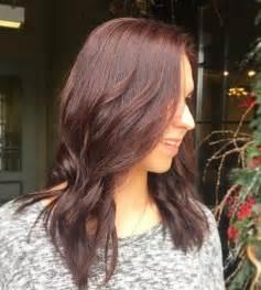 mahogany color hair it s all the rage mahogany hair color