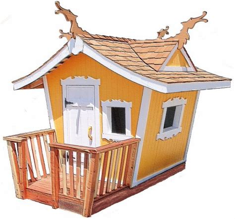 Handmade Wooden Playhouse - 89 best doll house shed images on small