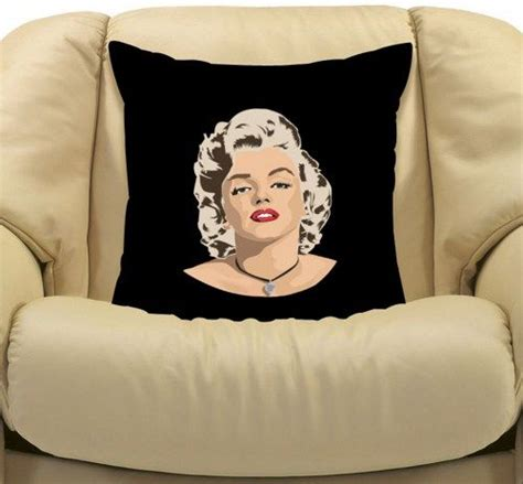 Marilyn Pillow Cases by Marilyn Side Decorative Cushion Pillow 20 Quot