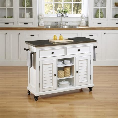 Kitchen Trolley Island by Incomparable White Kitchen Island Cart With White Louvered