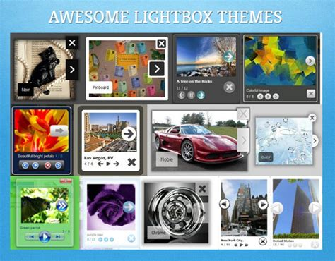 jquery themes gallery getting new templates for photo gallery software