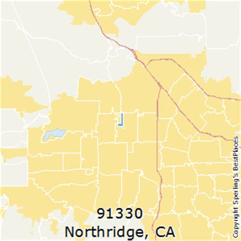 northridge california map best places to live in northridge zip 91330 california