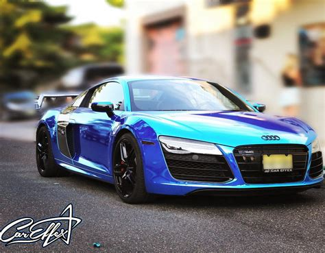 audi r8 chrome blue chrome blue audi r8 on instagram