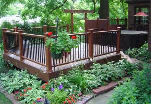Best Mulch For Landscaping St Louis Decks Getting The Look You Want With Skirting