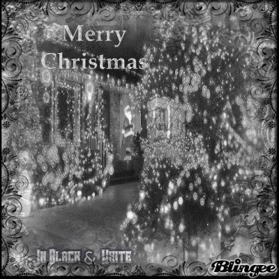 merry christmas black  white picture  blingeecom