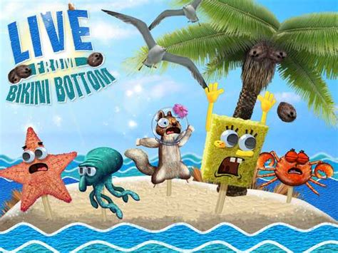 rock the boat game online spongebob squarepants live from bikini bottom funny game