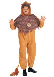 cowardly lion halloween costume mens cowardly lion costume wizard of oz cowardly