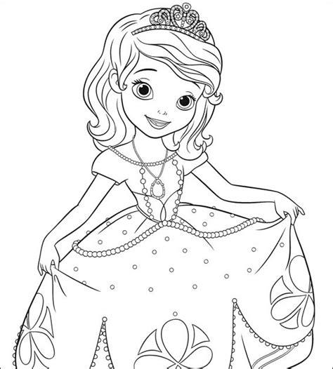 coloriage204 coloriage princesse sofia 224 imprimer