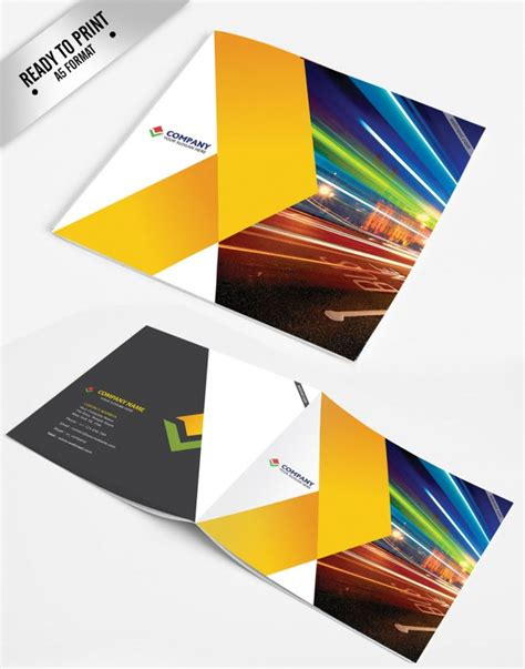 15 Free Corporate Bifold And Trifold Brochure Templates Free Download Now Corporate Brochure Design Templates