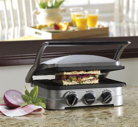 Cuisinart 5 In 1 Countertop Griddler by Cuisinart Gr 4n Griddler Compact 5 In 1 Nonstick Plates