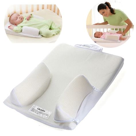 Pillow For Baby To Sleep In Bed | baby positioner pillow infant fixed head ultimate sleep