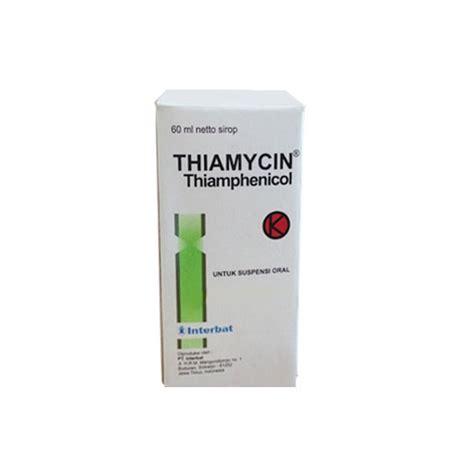 thiamycin sirup  ml kegunaan efek samping dosis