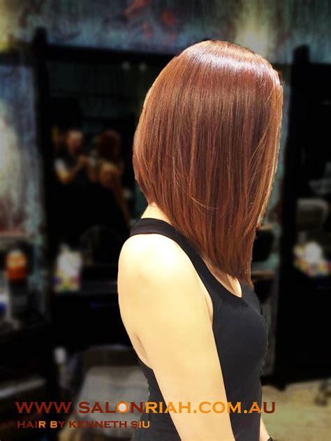 Kenneth Siu's Haircut   Concave Long Bob   YouTube