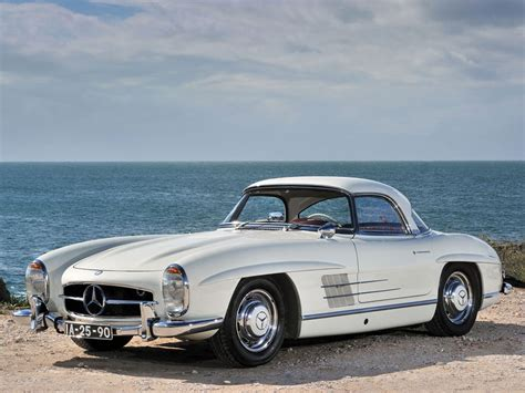 1962 mercedes 300sl roadster on rm auction extravaganzi