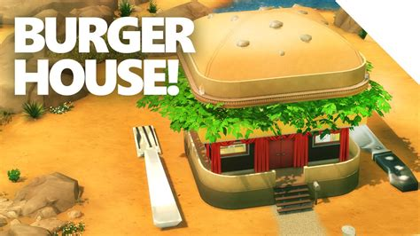 burger house the sims 4 burger house build youtube