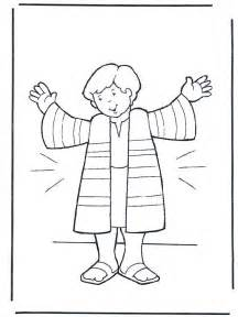 joseph coloring pages joseph s coat coloring sheet joseph coat of many