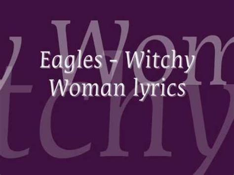 Witchy Woman Eagles