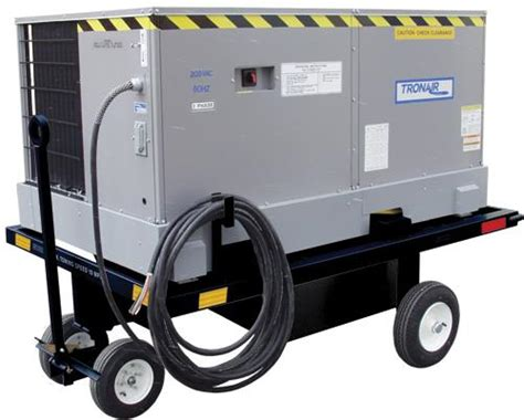 aircraft portable air conditioner cart cart  airplane
