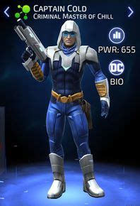 captain cold criminal master  chill dc legends wiki