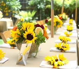 sonnenblumen dekoration sonnenblumen deko 50 wundersch 246 ne blumengestecke