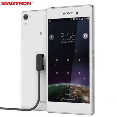 sony xperia m series mobile magtron magnector x sony xperia z series magnetic charging