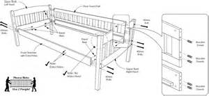 assembly of cinnamon futon bunk bed how to