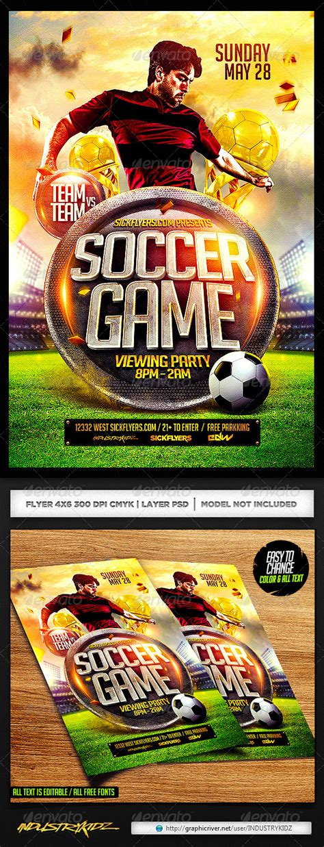 psd sports templates 25 best soccer world cup brazil psd flyer templates