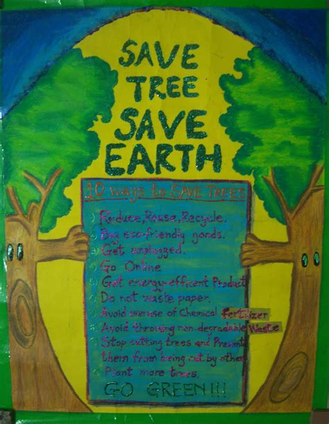 Great Green Idea Save Our Trees by On My Board Right Now Save Earth Save Tree