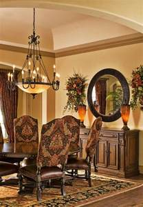 Tuscan Dining Room Chairs Tuscan Style Dining Room Tuscan Decor Beautiful Style And Room Makeovers