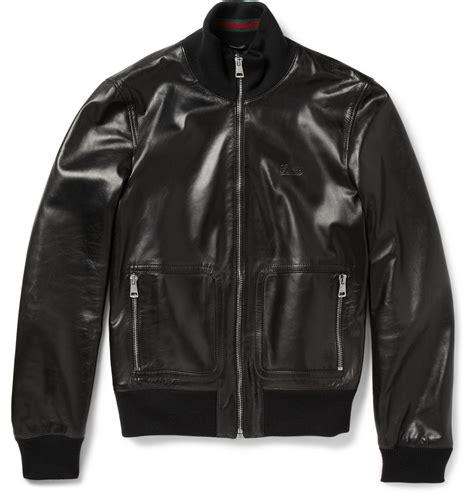 Guc Ci Leather gucci jacket s fashion