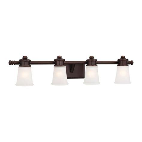 Brushed Bronze Bathroom Lighting Bathroom Light With White Glass In Brushed Bronze Finish 4534 267b Destination Lighting