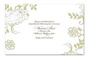 Wedding Invitation Designs Templates by Handmade Wedding Invitation Template Design Invitation