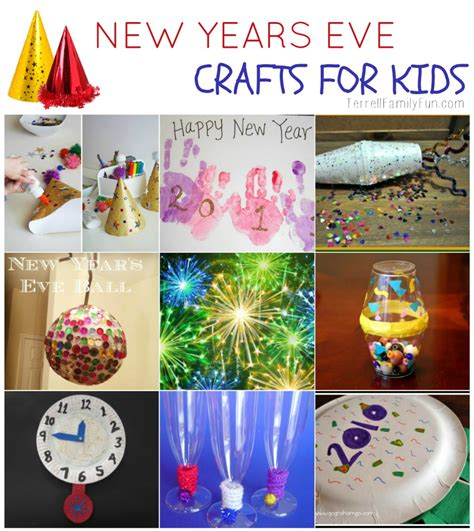 new crafts for new years crafts for