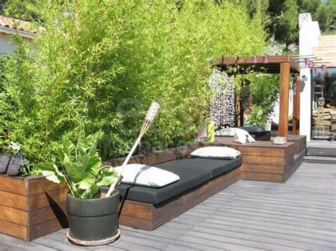 Chestha Gravier Terrasse Design Chestha Design Bambou Terrasse